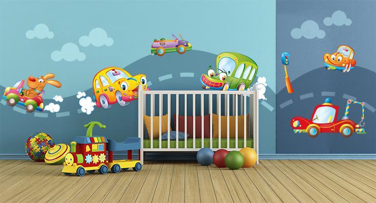 Adesivi murali per bambini sportsforall - Adesivi murali bambini ikea ...